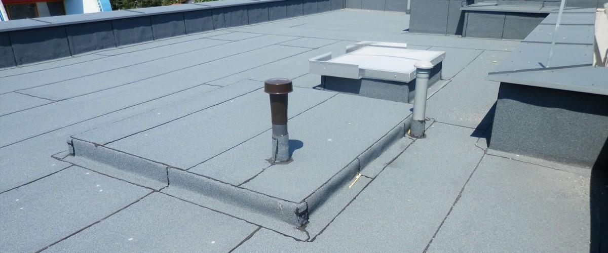 Dachy płaskie - papy