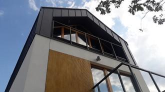 Dachy skośne - panel dachowy (click)