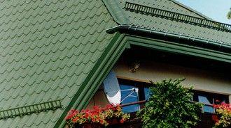 Dachy skośne - Blachodachówka