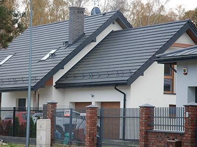 Dachy skośne - dachówki zakładkowe płaskie