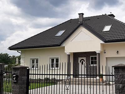 Dachy skośne - dachówki zakładkowe faliste